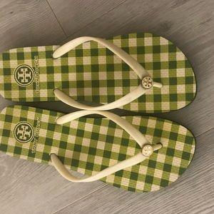 Tory Burch Shoes - Authentic Tory Burch rubber flip-flops